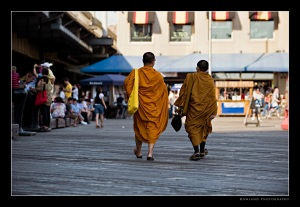 Monks at South Street Seaport