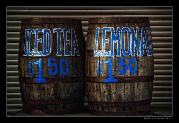 Lemonade Iced Tea Barrels
