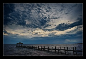 Pier at Sunset~ Outerbanks