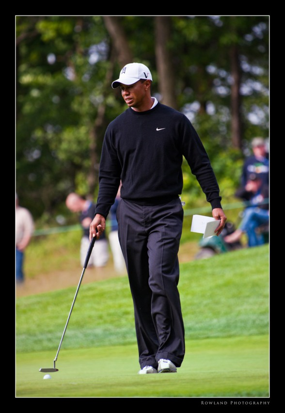 Tiger Woods at Bethpage