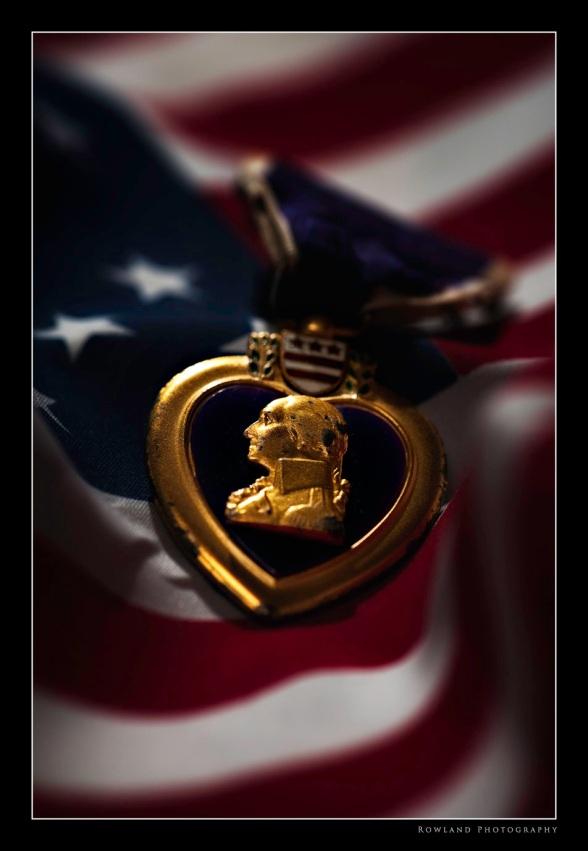 Dad's Purple Heart