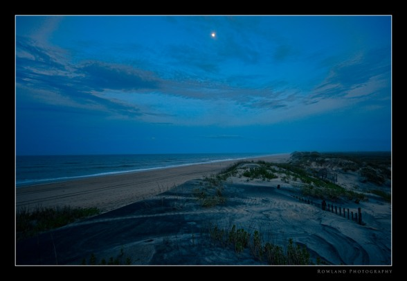 Moon over the Dunes