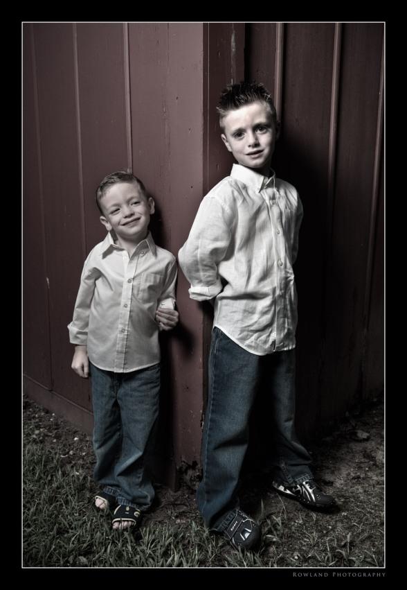 Tristan & Aidan (c) Joseph Rowland 2009