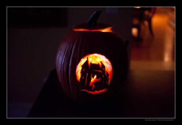 Carved Pumpkin (c) Joseph Rowland 2009