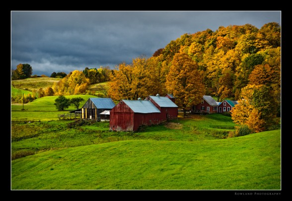 Magic Light, Jenne Farm, Vermont (c) Joseph Rowland 2009