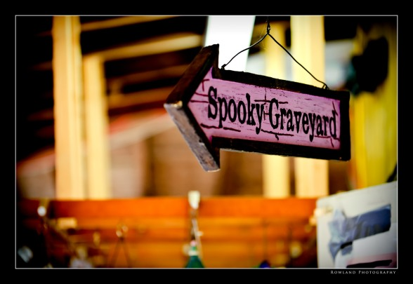 Spooky Graveyard (c) Joseph Rowland 2009